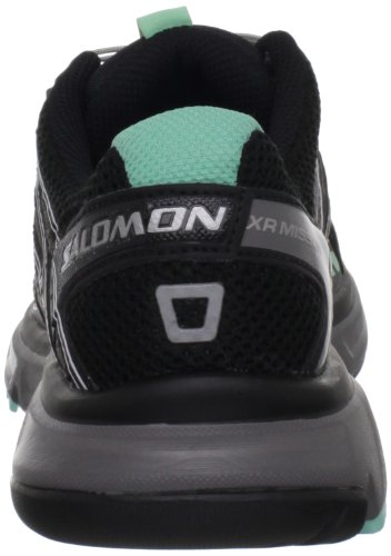 Salomon Xr Mission L32703500, Noir / Turquoise Chaussures De Course Pour Femme