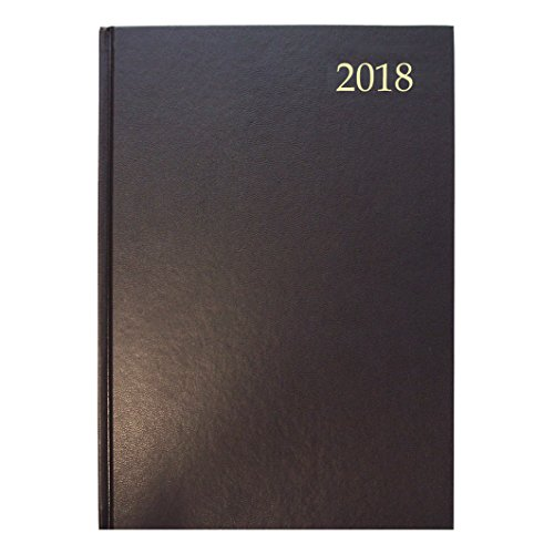 Collins ESSA53-2018 BLK Essential A5 Week to View 2018 Diary - Black