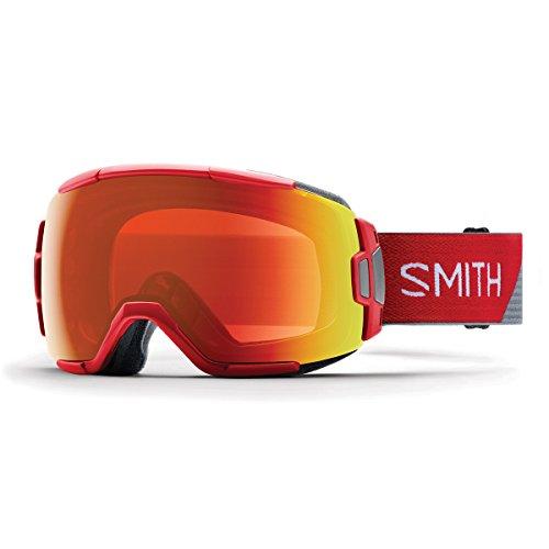Smith Erwachsene Vice Skibrille, Fire Split, One Size