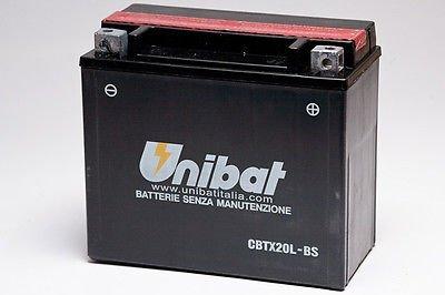 BATTERIA MOTO SCOOTER UNIBAT NO YUASA CBTX20L-BS