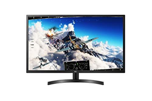LG 32ML600M-B UHD 4K-IPS-Monitor mit 1920 x 1080 Pixel, Full HD, 16:9, 300 cd/m2, 1200:1, DCI-P3 >95%, 75 Hz, 5 ms, Schwarz