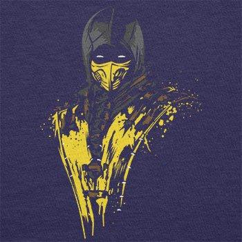 NERDO - Scorpion Splash - Herren Langarm T-Shirt Navy