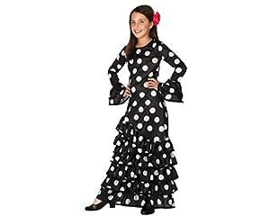 Atosa-26542 Disfraz Flamenca, Color ((schwarz/weiss), 3 a 4 años (26542