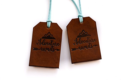 Leather-Luggage-Tag-Adventure-Awaits-Rustic-Bag-Tag-Gift-for-Traveler-Travel-Gear-Stocking-Filler-Christmas-Gift-for-Traveler
