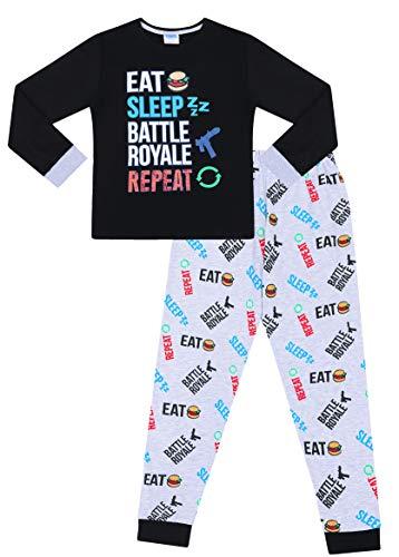 The Pyjama Factory - Pijama Dos Piezas - para niño Negro Negro (9-10 Años