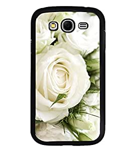 Vizagbeats White Flowers Bunch Back Case Cover For Samsung Galaxy Grand I9082