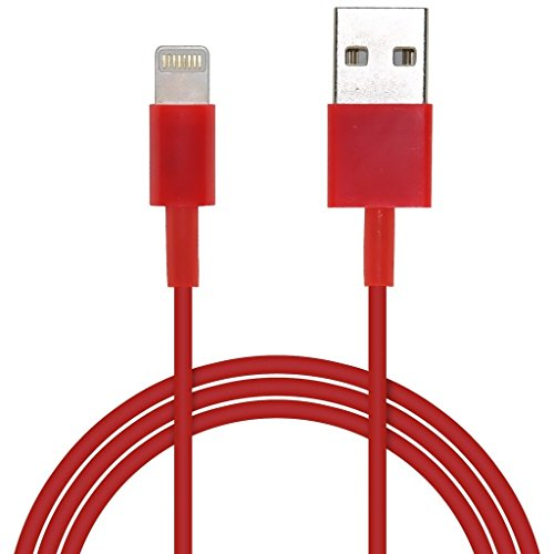 Lead Wire (Aventus (Rot) Apple iPod Touch 5th generation 8 Pin Blitz-USB-Lade Data & Sync-Kabel mit Lead Wire)
