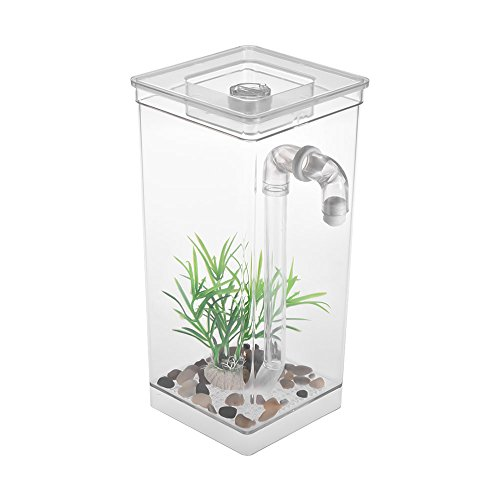Weehey Self Cleaning Small Fish Tank Bowl Conveniente