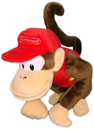 "Nintendo - Diddy Kong Plush - 20cm 8"""