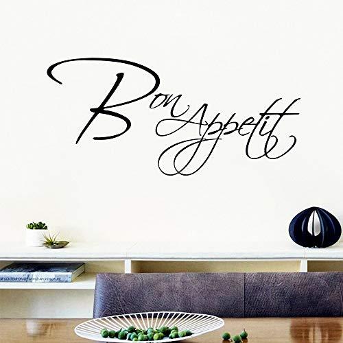 Carta da parati smontabile di arte della parete del salone della camera da letto del vinile dell'autoadesivo grazioso di appetito grazioso
