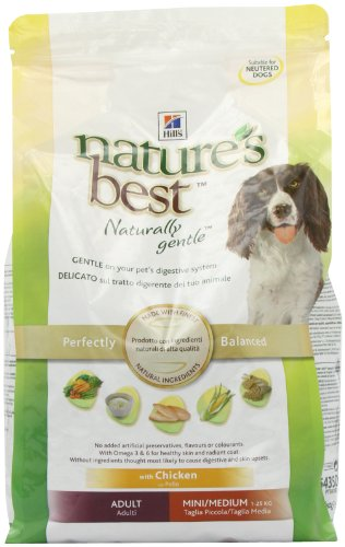 Hills Nature's Best Canine Adult Mini / Medium Hundefutter 2kg