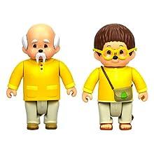 Monchhichi – Set mit 2 Figuren mit Gelenken