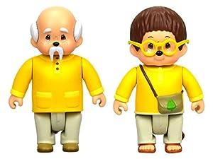 Monchhichi- Pack de 2 Figuras, Multicolor, 7.5 cm (Toy Partner 81503)