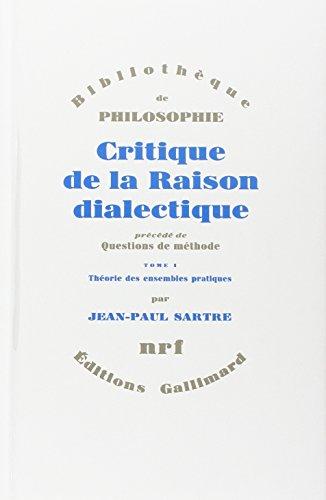 Critique De La Laison Dialectique par Jean Paul Satre