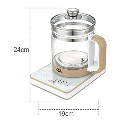 GPC Electric Kettle Fully Automatic Home Mini Insulation Glass 1.8L 800W Electric Kettles