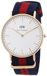 Reloj Daniel Wellington 0501DW de cuarzo para mujer con correa de nylon, color multicolor de Daniel Wellington