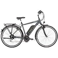 "Fischer Herren ETH 1806 E-Bike, anthrazit matt, 28"""