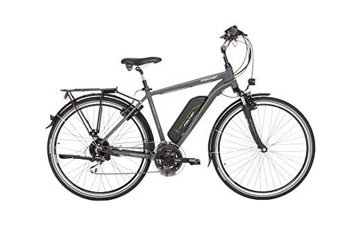 "FISCHER Herren - E-Bike Trekking ETH 1806 (2018), anthrazit matt, 28\"", RH 50 cm, Hinterradmotor 45 Nm, 48V Akku"