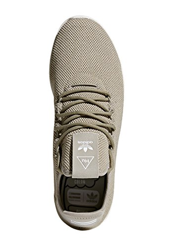 adidas Pharrell Williams Tennis hu Herren Sneaker Grün Beige (Tech Beige/Chalk White)