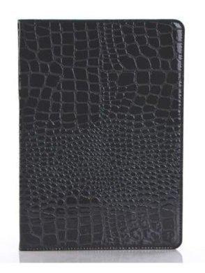 Neue iPad 24,6cm 20182017Fall, livitech Krokodil PU Leder Folio Smart Cover Schutzhülle Hard Cover Leichtes Wake Sleep für Apple iPad Retina Modell A1893A1954A1822A1823 Schwarz Schwarz (Ipad-coach Fall)