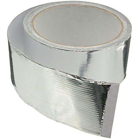 Yongse 45mmx14m argento rotolo Aluminium Foil Duct tubo nastro sigillante