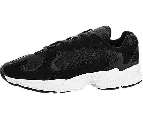 adidas - Yung-1 Hombre, Negro (Negro/Blanco (Core Black/White)), 41.5 EU