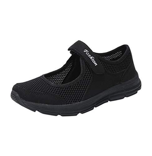 Turnschuhe für Frauen,Tomatoa Damen Laufschuhe Sportschuhe Outdoor Sneaker Walking Schuhe Mode Schuhe Atmungsaktiv Sommer Schuhe Running Freizeitschuhe Gr. 35-42