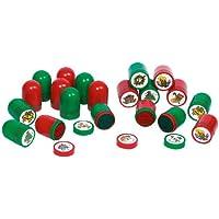 Kunststoff-Stempel, Weihnachtsmotive
