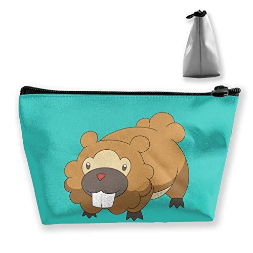 Classic Fashion Bag Anime Beaver Make-up Bag