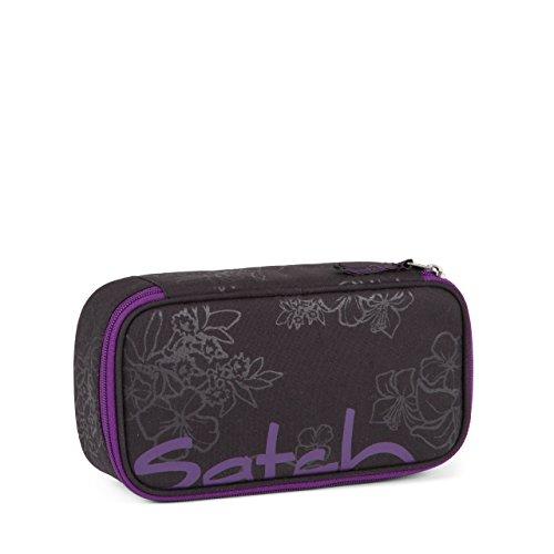 Satch Zubehör Schlamperbox incl. Geodreieck Purple Hibiscus 2016/17