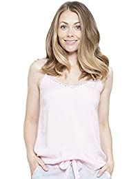 Cyberjammies 4119 Womens Zara Pink Pyjama Top