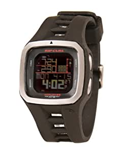 Rip Curl Trestles Pro World Tide and Time Watch BLACK A1100