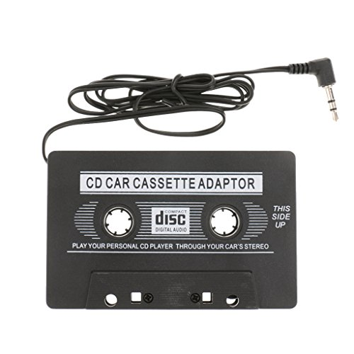 Car Automobile Cassette Tapes Audio Adapter Inventer for MP4 Player MD Black  available at amazon for Rs.335