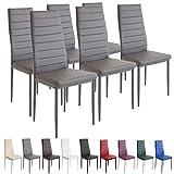 """Il SET di sedie MILANO porta un sapore tutto italiano nella tua sala da pranzo! """"Chic e pratico"""": ecco come si possono descrivere al meglio le caratteristiche del set di sedie MILANO.   Queste sedie convincono per la loro forma moderna, ma ..."""
