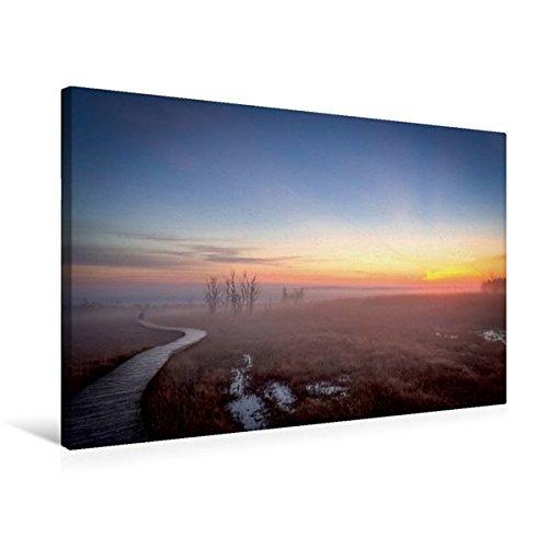 Premium Textil-Leinwand 75 cm x 50 cm quer, Ein Motiv aus dem Kalender Das Hohe Venn   Wandbild, Bild auf Keilrahmen, Fertigbild auf echter Leinwand, Leinwanddruck (CALVENDO Natur)