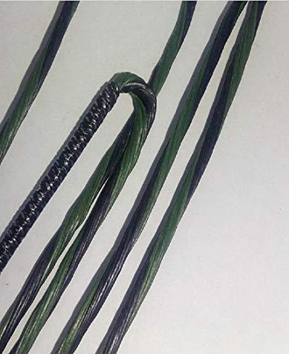 "Mathews Switchback Xt Compound Bow String 87 3/4"" (Black/Green)"