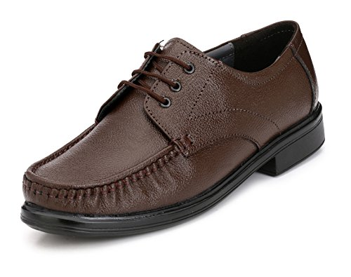 ShoeDealsIn Brown Genuine Leather Formal Shoes For Men @ Discount On Leather Formal Shoes