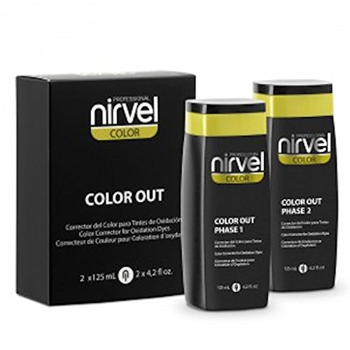 Nirvel Farbentferner Color out Haarfarbenentferner Hair Color Corrector 2x125ml
