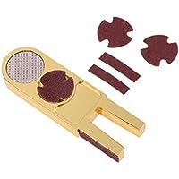 perfk U Billar Pool Snooker Cue Tip Scuffer Reparaciones Herramienta Bruñidor Shaper Accesorio