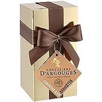 Assortiment de chocolats lait,noir - Ballotin cadeau Noël Chevaliers d'Argouges 185g