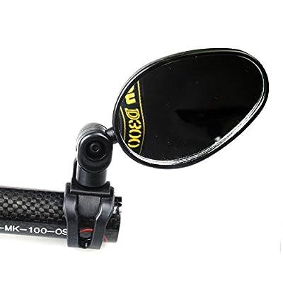 Tenflyer Universal Handlebar Rearview Mirror 360 Degree Rotate Bike MTB Cycling - cheap UK light shop.