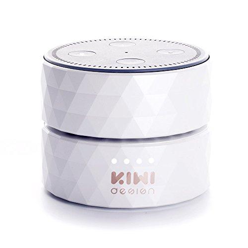Akku für Dot 2, Dot 2 Akku 10000mAh Batteriestation, 17 Stunden Ununterbrochenen Gebrauch von KIWI design(Weiß )