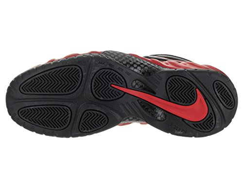 Nike Air Foamposite Pro, Chaussures de Sport-Basketball Homme Rouge - Rojo (Rojo (University Red/Blk-Unvrsty Rd))