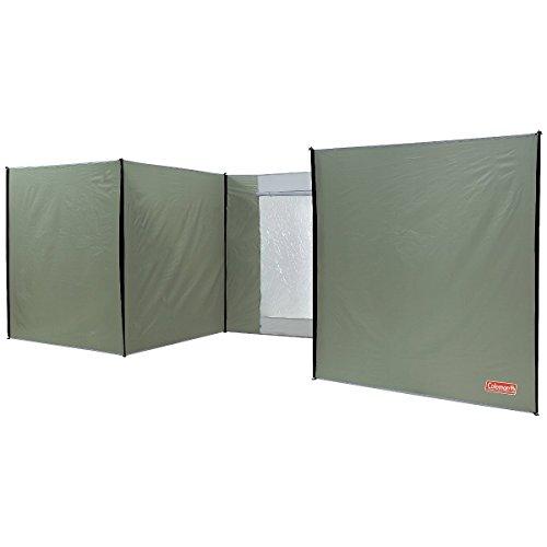 Coleman XXL Windschutz, 7,5 x 1,65 m. Idealer Sicht- und Windschutz für Garten, Park oder Strand