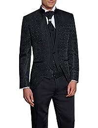 Hochzeit Anzug Gehrock-Cutaway Style 4-teilig Muga