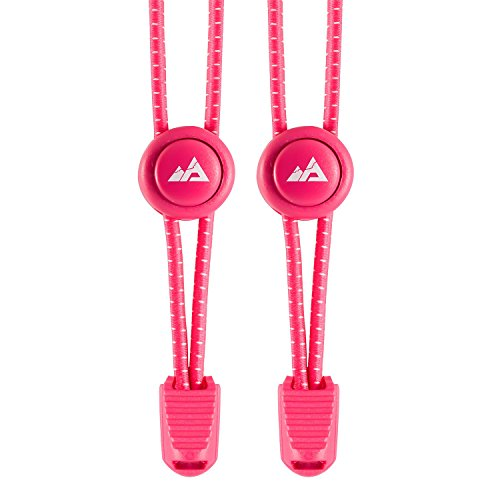 Adventure Lab-La High Performance elastica Sport Lacci con chiusura rapida, hot pink