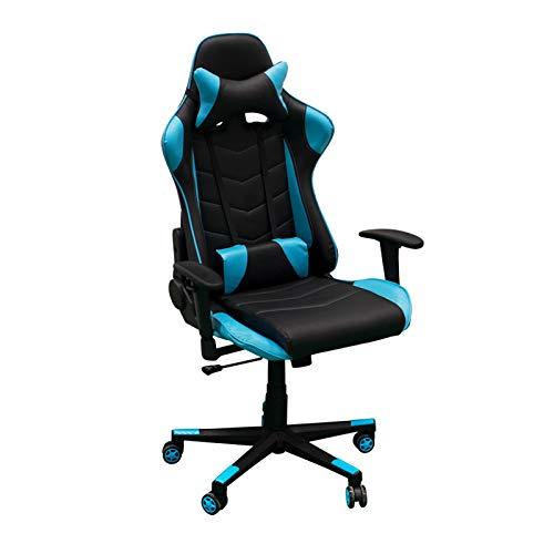 Regalos Miguel Sillas Gamer Player. Sillas Gaming Sillas para Gamer (Azul Claro)