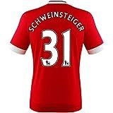 adidas Herren Manchester United Schweinsteiger Trikot Home 2016
