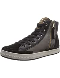 Geox D MODESTY A Damen Hohe Sneakers