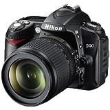 Nikon D90 SLR-Digitalkamera (12 Megapixel, Live-View, HD-Videofunktion) Kit inkl. 18-105mm 1:3,5-5,6G VR Objektiv (bildstab.)